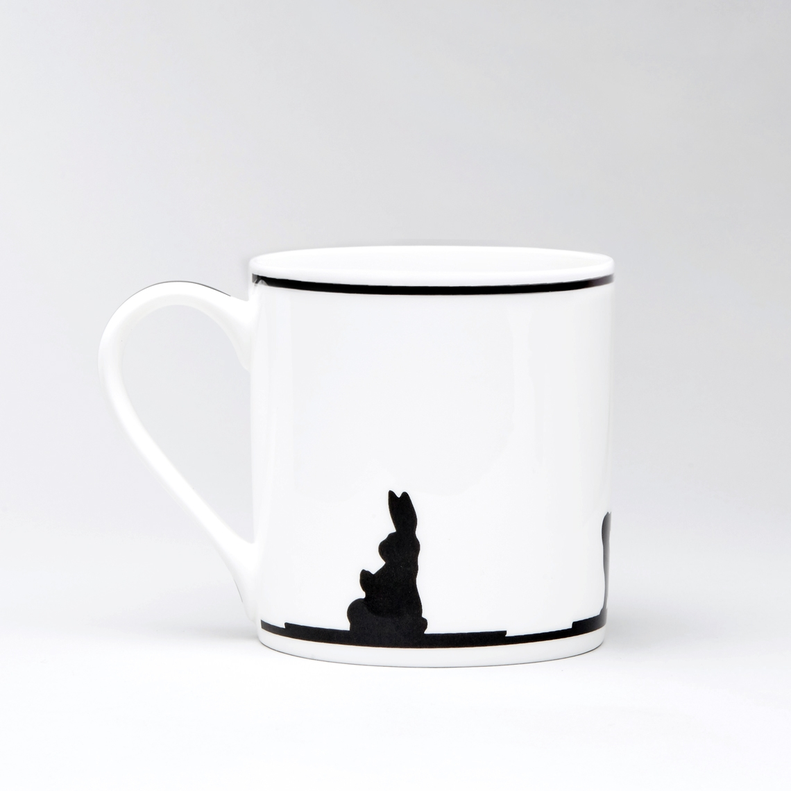 Yoga Rabbit Mug by Ham