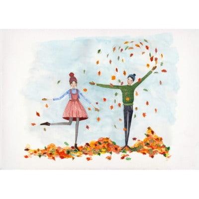 autumn, leaves, winter, cosy, hygge, claire fleck