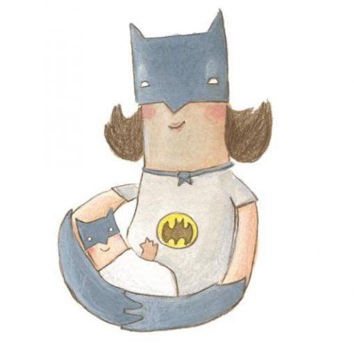 Bat Mum the Original Superhero by The Grey Earl