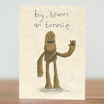 big, broon an' bonnie
