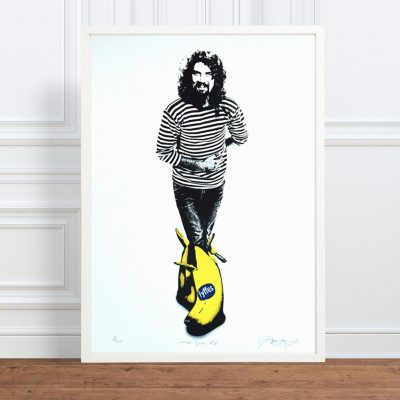 The Big Yin Billy Connolly Screen Print by Barry Bulsara