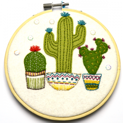 Cactus Applique Kit by Corinne Lapierre