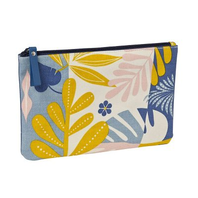 canvas-clutch-bag-with-tropic-yellow-pattern