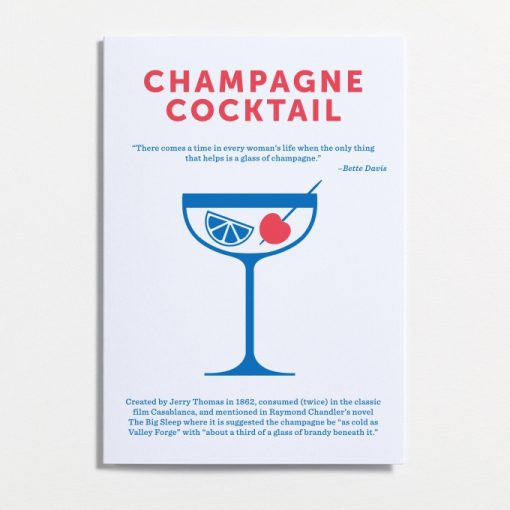Champagne Cocktail, the perfect cocktail for the classy lady having a night on the town