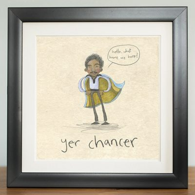 chancer lando calrissian digital print by The Grey Earl, Stars are Braw, Star Wars