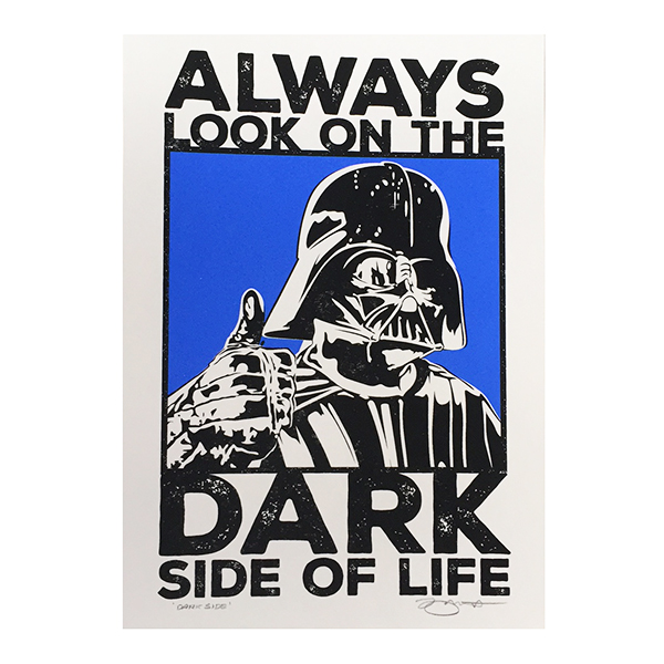 Dark SIde, Darth Vadar, Star Wars, Barry Bulsara