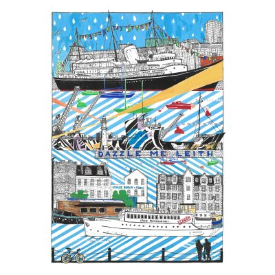 dazzle me leith by Libby Walker