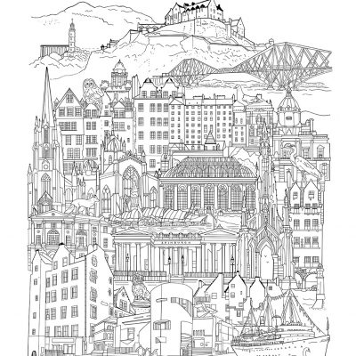 edinburgh drawing