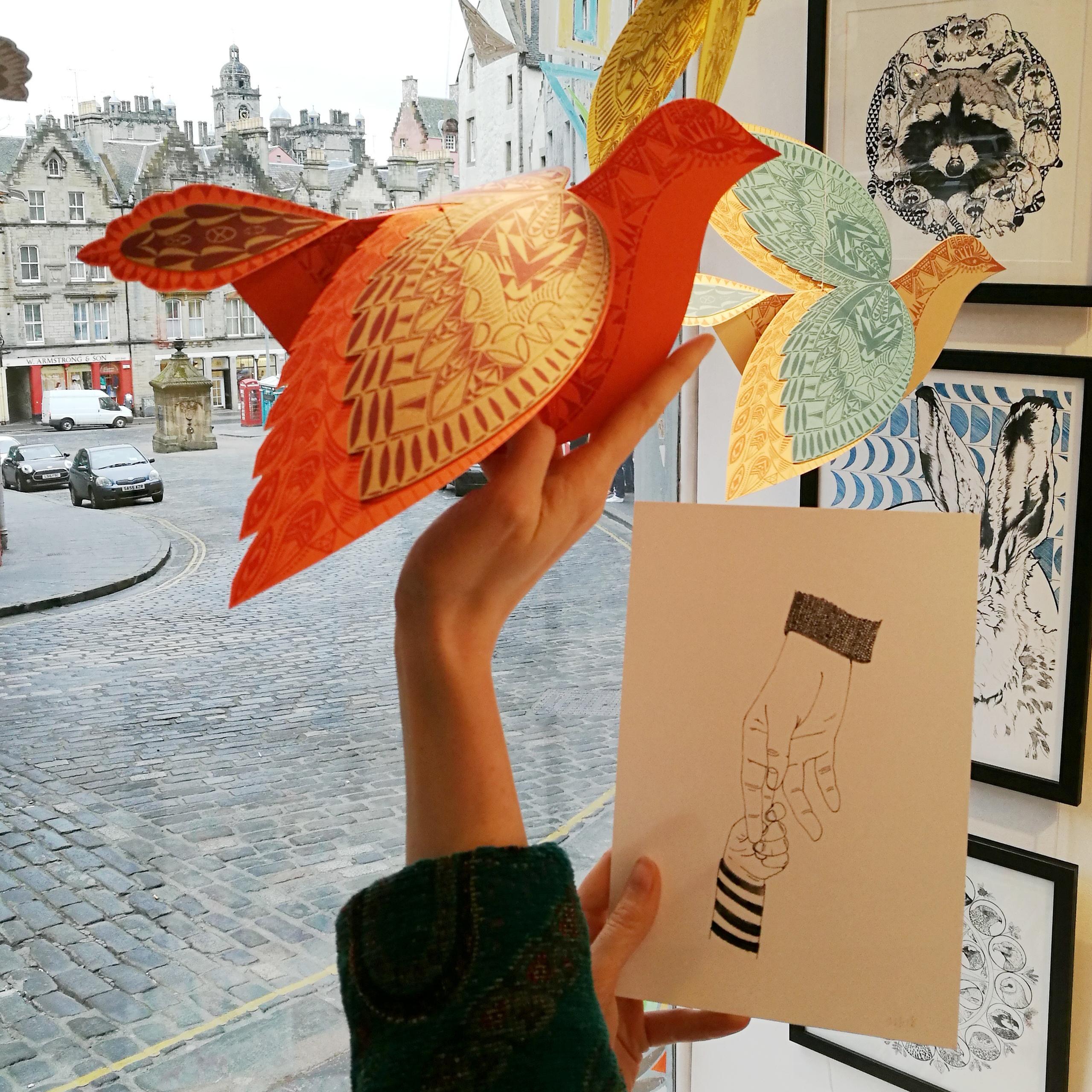 Paper Bird Kit by Kirsty Baynham