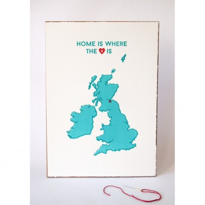 home is where the heart is by kate and the ink - sewn