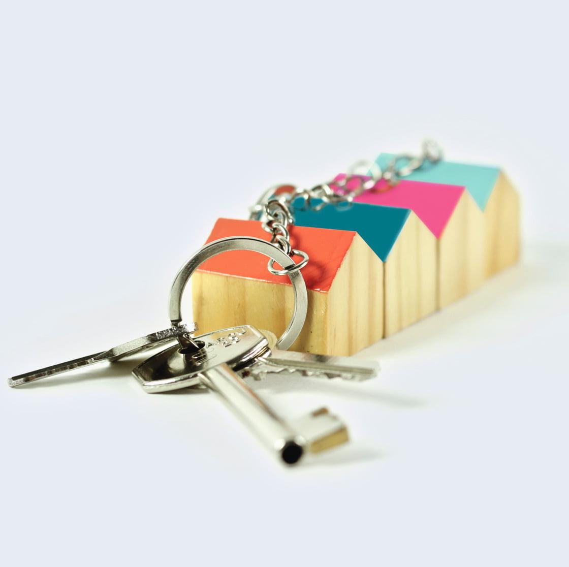 Home Sweet Home Keyring by DOIY