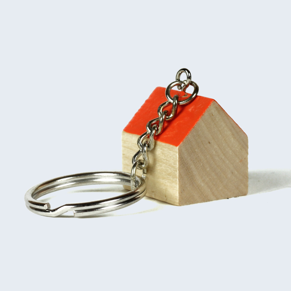 Home Sweet Home Keyring - The Red Door Gallery - What s New 4bf27c657d05