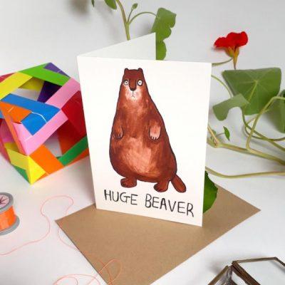 huge beaver