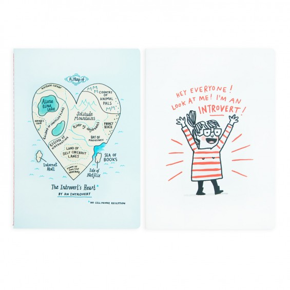 Gemma Correll Notebooks by Ohh Deer