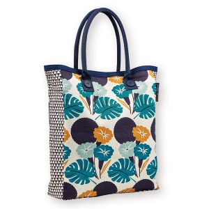 Gorgeous screen printed jungle theme Tote Bag, all sent for the sunnier months ahead with this gorgeous tote by Atomic Soda