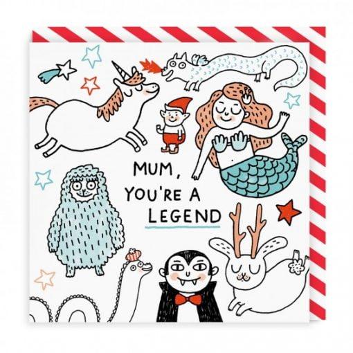 Mum you're a Legend by Gemma Correll