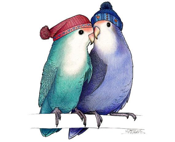 Love Birds by Alice Tams