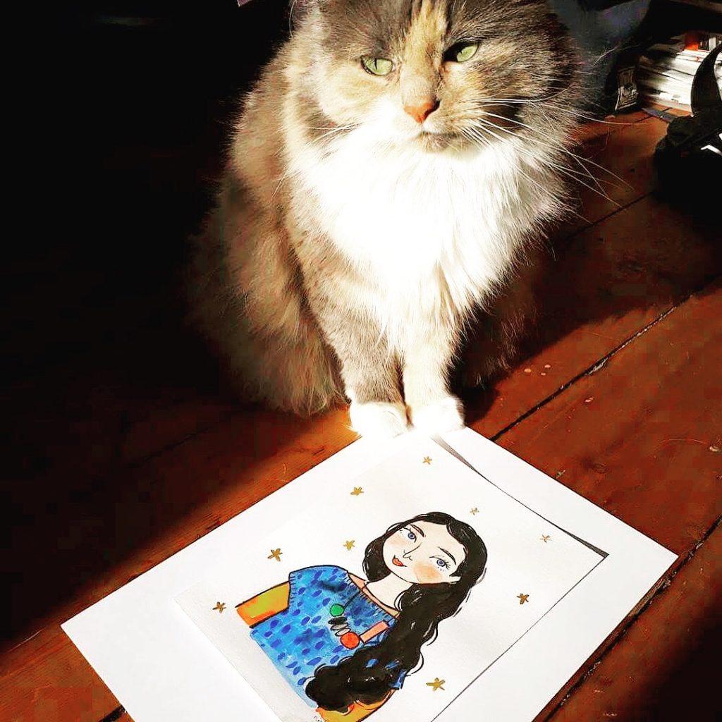 international cat day blog