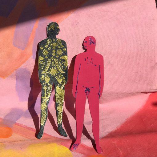 Nudist Bookmark by Ark