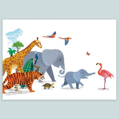 original_signed-animal-parade-nursery-print
