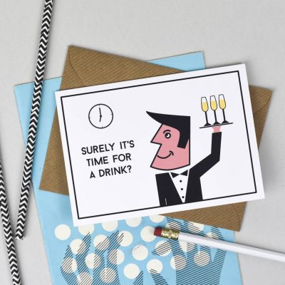 original_time-for-a-drink-waiter-card