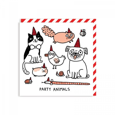 party animals, gemma correll, cards, pets, cats, dogs