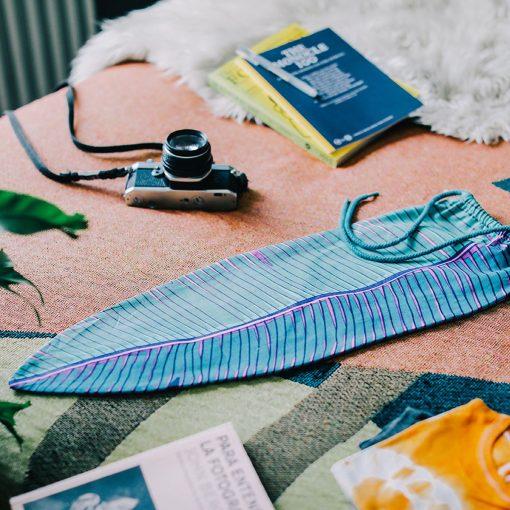 Tropical Leaf Laundry Bag by DOIY Design
