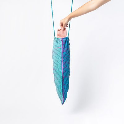 Tropical Leaf Laundry Bag by DOIY Design