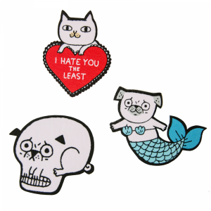 gemma correll, humour, cards, illustration, patches