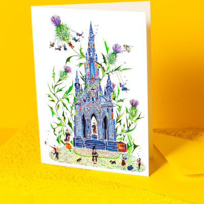 scott monument card 1