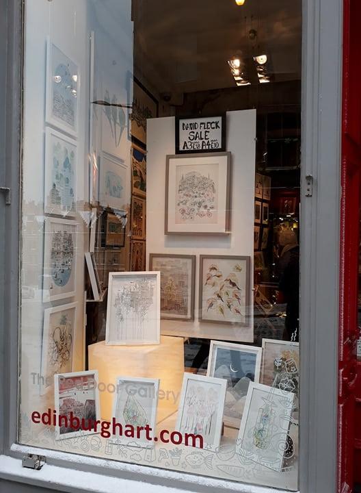 david fleck at the red door gallery
