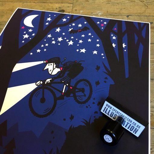 Night Rider by Spencer Wilson