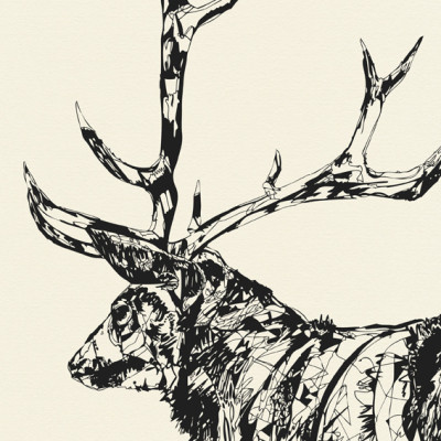 standingStag