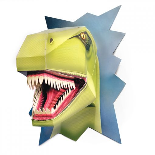 t-rex, dinosaur, t-rex head, tyranasaurus rex, clock work soldier, diy, cut out and make