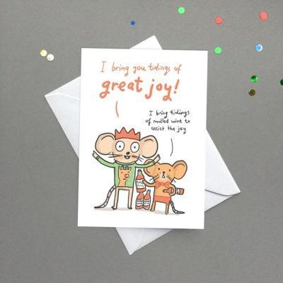 tiding of great joy