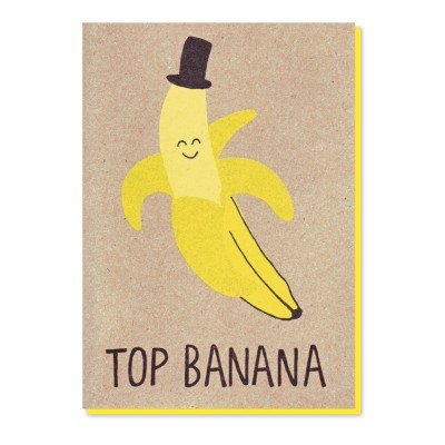 top banana Card by Stormy Knight