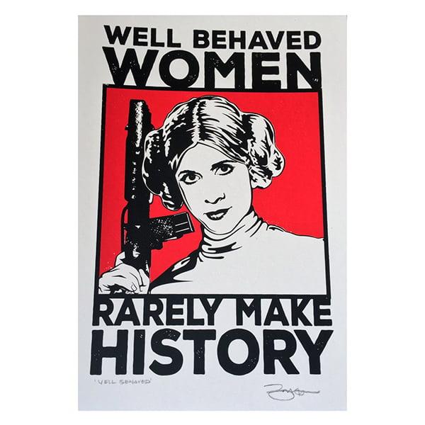 princess leia, strong women, icons,movies, star wars, barry bulsara