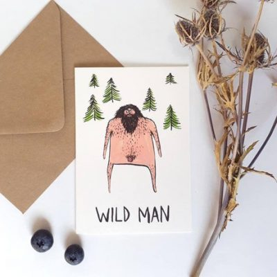 wild man card